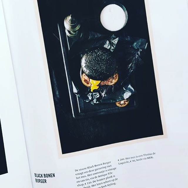 Black Food in het Blad WOTH uitgaven 2 nov 2016
